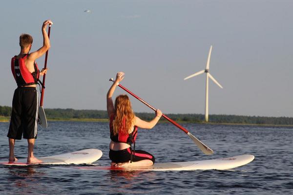 Seikluspartner canoe or kayak trip to Oosäär islet