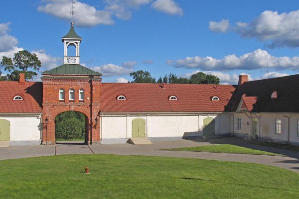Rogosi kastelliknande herrgård i Ruusmäe