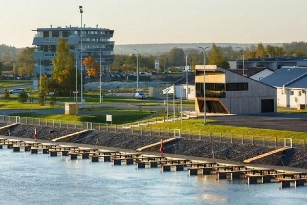 Caravan park of Tartu Karlova Harbour