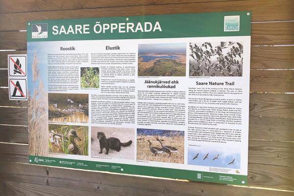 Wanderweg Saare