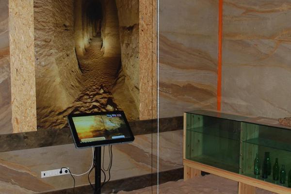 Besucherzentrum der Höhlen von Piusa
