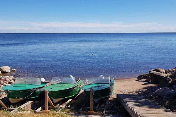 Ferienhof Vaino, Bootsverleih und Boote auf dem Peipus-See