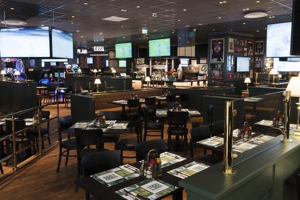 O`Learys Sportrestaurant und Unterhaltungszentrum im Einkaufszentrum Eeden