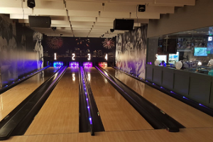 Bowling at O'Learys entertainment centre in Ülemiste