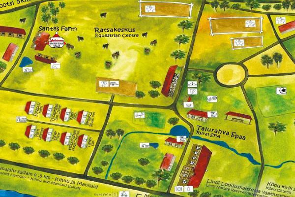 Marian maatilamatkailutila