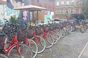 Baltreisen bike rental in the city centre of Pärnu