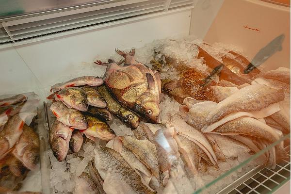 Rannapuura fish shop, a wide selection of fresh Peipsi fish