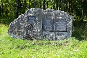 Jaan ja Anfissa Räppon muistokivi