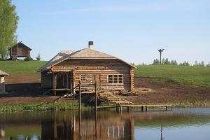Uhtjerves ezera senlejas raganu valsts semināru telpas