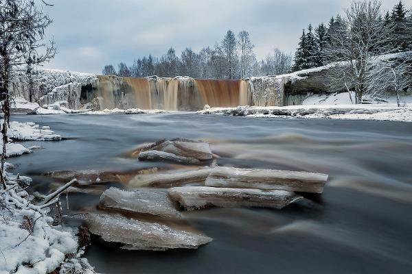 Picnic by the Jägala waterfall