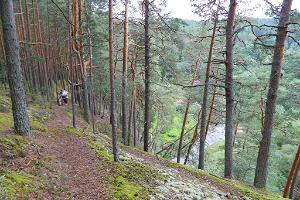 Wanderweg durch das Urtal des Piusa-Flusses