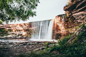 Jegalas ūdenskrituma vērošana kopā ar pikniku