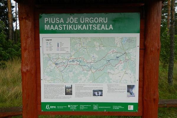 Piusa jõe ürgoru matkarada