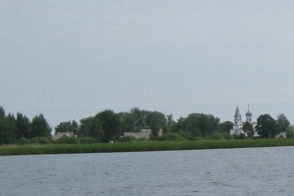 Orthodoxe Dorfkapelle (tsässon) von Podmotsa