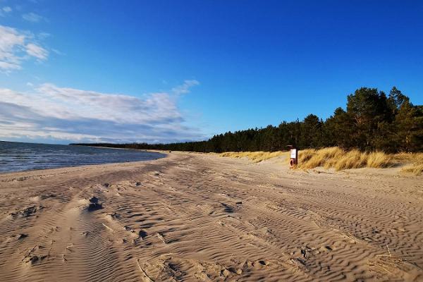 Matsi strand och tältplats