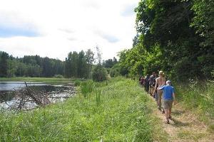 Wanderwege im Landschaftsschutzgebiet Paganamaa