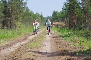 """Pārgājienu taka """"Zaļais dzelzceļš"""" Viljandi-Meisakila"""