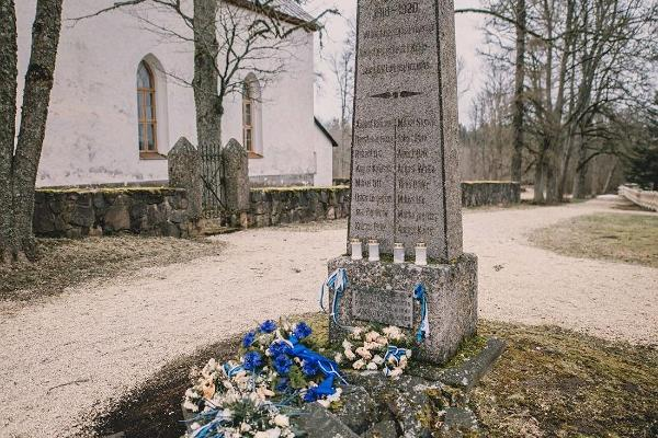 Monument to the War of Independence in Kolga-Jaani