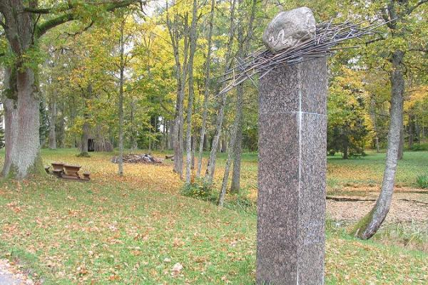 Kaarnakivi Rõugen puistossa