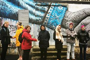 Street art tour in Telliskivi Creative City