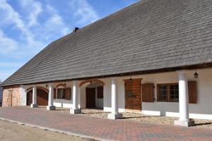 Entertainment centre in the Vastseliina Episcopal Castle