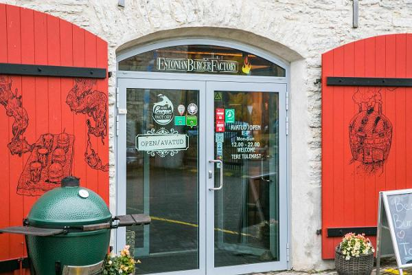 "Restoran ""Estonian Burger Factory"""