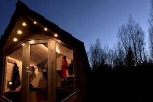 Kärg solar powered cabin