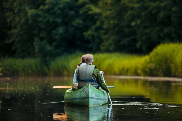 Overnight canoe trip on the Alam-Pedja rivers