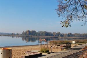 Tamula järve rand ja rannapromenaad