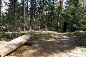 Palumägede Wanderweg und Lagerfeuerplatz