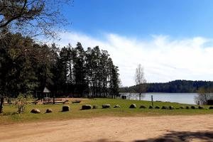 Pikksaaren luontopolku ja Pangodin nuotiopaikka