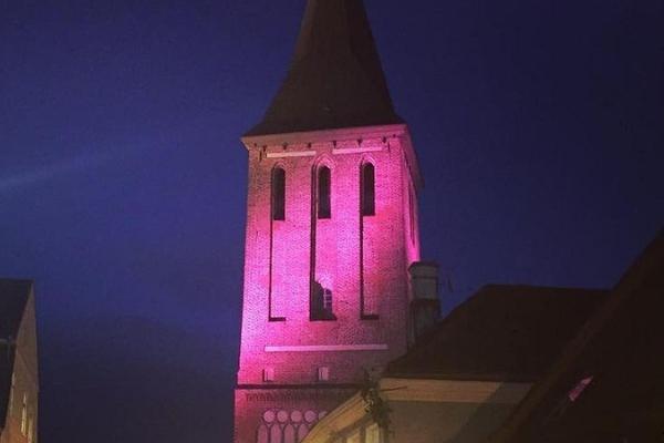 Kirchturm der Johanniskirche zu Tartu