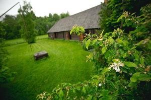 2021 kevade ERI: Juhan Liivi kodutalus asuv muuseum kevadises roheluses