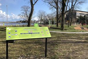 Zugänglicher Aktivitätenpark des Neurologischen Rehabilitationszentrums in Haapsalu