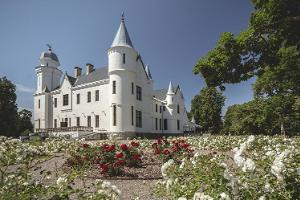 2021 kevade ERI: Sibulateel Alatskivi loss, ümbritsetud õitsevate roosidega