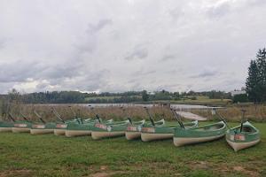 Veeteen kanoottiretki Koorasten järvistössä