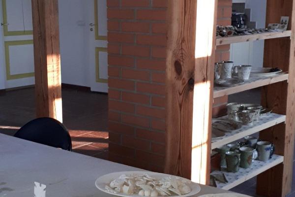 Keraamika töötuba Luke mõisa Käsitöökojas
