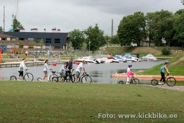 Guidad scootertur i Estlands Sommarhuvudstad Pärnu