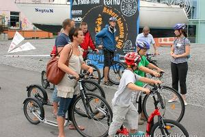 Экскурсия на самокатах с гидом по городу Пярну — летней столице Эстонии
