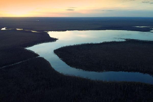 Nature Tours Estonia päikeseloojangu kanuuretked Emajõe-Suursoos