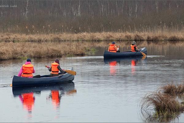 Nature Tours Estonia canoe day trips in Emajõe-Suursoo