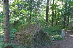 Kunderi sten på Suur Munamägi