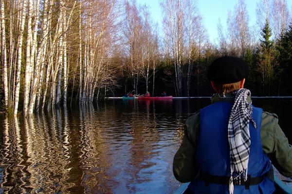 Looming Hosteli loomingulised kanuuretked