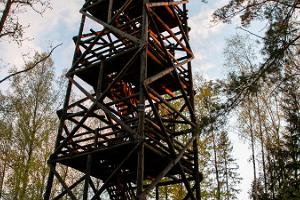 Tellingumäe viewing tower and recreational area