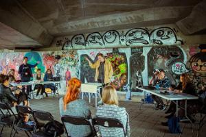 Festival für die Straßenkunst Stencibility