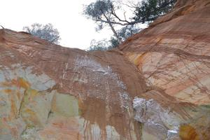 Sõjatare walls and Uku Cave