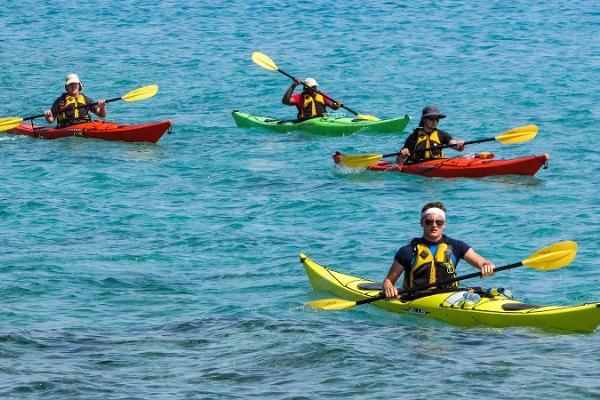Sea kayaking trips in the Kihnu Strait