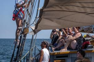 Historical voyages on schooner Hoppet
