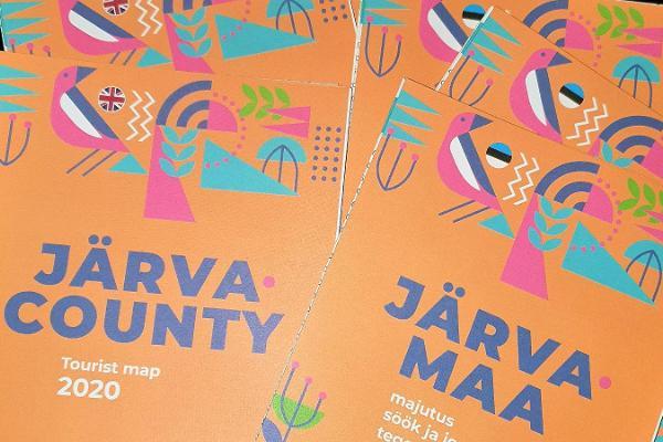Elektronische Touristeninformation des Kreises Järvamaa im Restaurant Tikupoiss