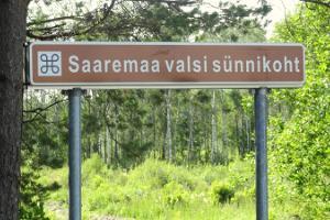 """""""Saaremaa valsi"""" sünnipaik"""